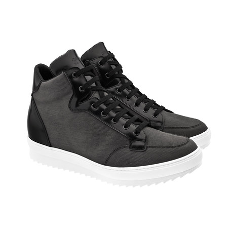 San Antonio High-Top Sneaker // Black (US: 7)