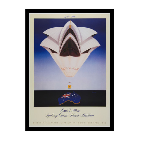 Louis Vuitton Sydney Opera House Balloon (Unframed)