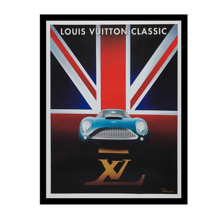 Classic Waddesdon Concours D'Elegance Event Poster (Unframed)