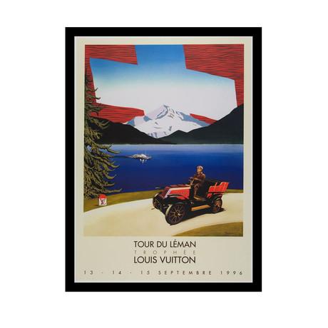 Tour Du Léman Trophee Louis Vuitton // 1996 (Unframed)