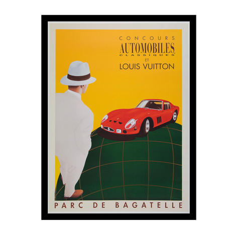 Concours Automobiles Classiques et Louis Vuitton. Parc de Bagatelle // 1995 (Unframed)