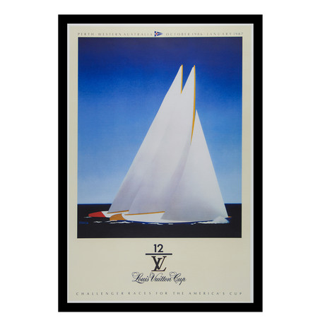 Louis Vuitton Cup Perth // 1986 (Unframed)