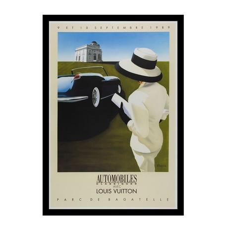 Automobiles avec Classique Louis Vuitton Parc De Bagatelle // 1989 (Unframed)