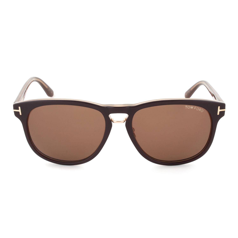 Tom Ford Franklin Sunglasses Brown Frame Brown Lens 59mm