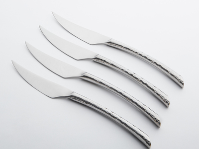 Photo of Argent Orfevres Timeless Cutlery Olivia Steak // 4 Piece Set by Touch Of Modern