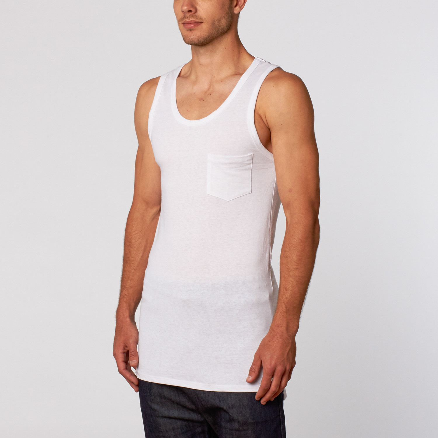 49bb9fc2f40c27 Logic Tank Top    White (M) - Goldmyne - Touch of Modern