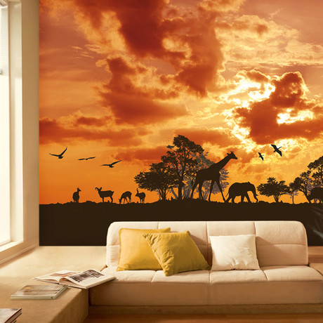 walplus imaginative wall murals touch of modern. Black Bedroom Furniture Sets. Home Design Ideas
