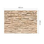 Square Stone Wall