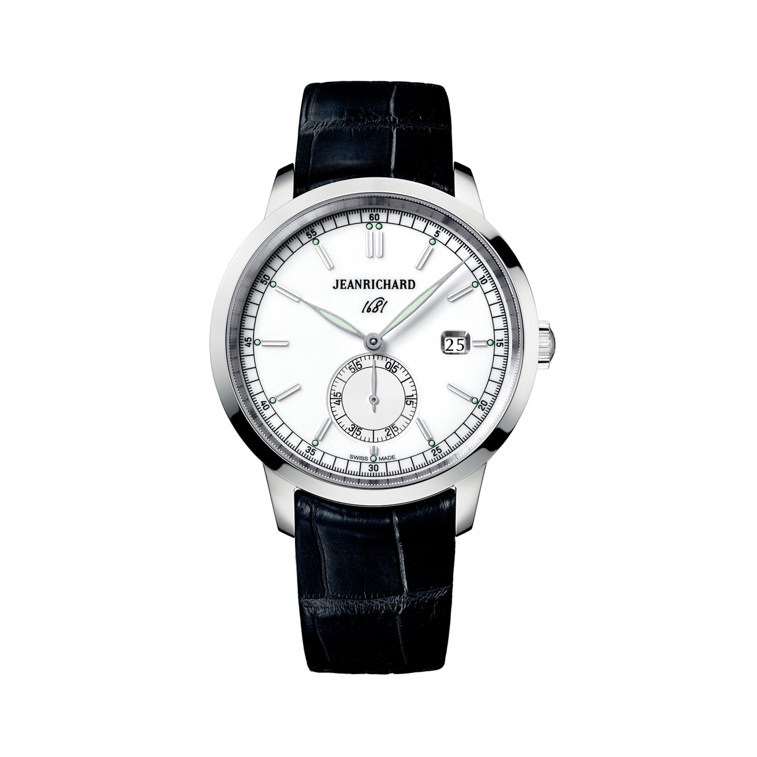 JeanRichard 1681 Ronde Small Second Automatic // 60310-11 ...