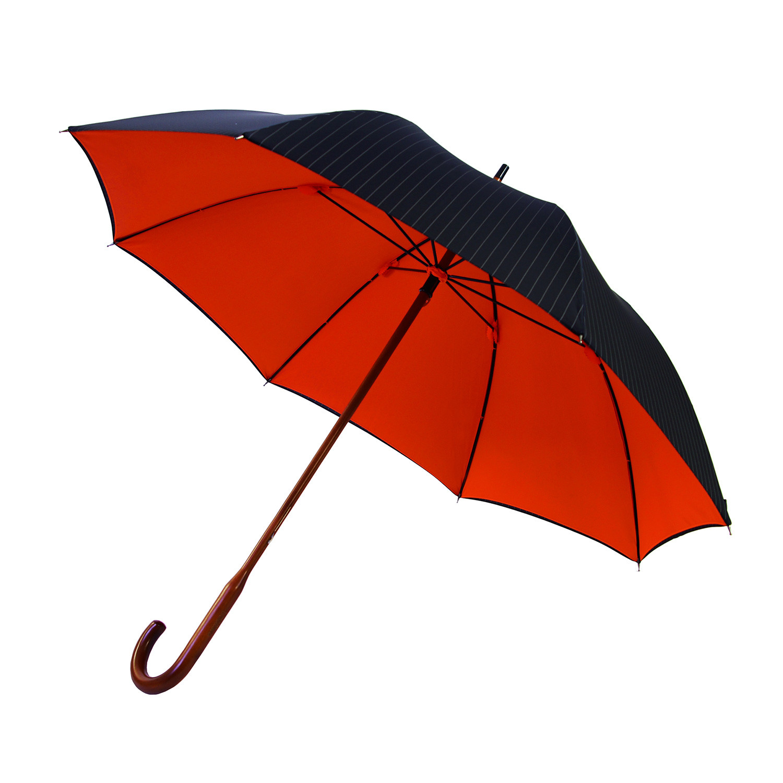 London Undercover Folded Umbrella: Dark Grey