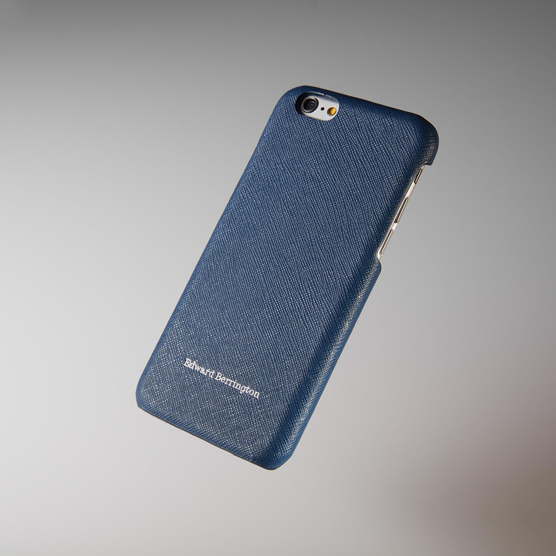 best value 623e3 ca68f Blue Saffiano Leather // iPhone 6 Case - Edward Berrington - Touch ...