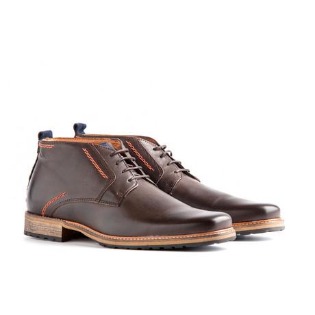 London Leather // Dark Brown