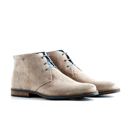 Liverpool Suede Ankle Boot // Sand (EUR: 49)