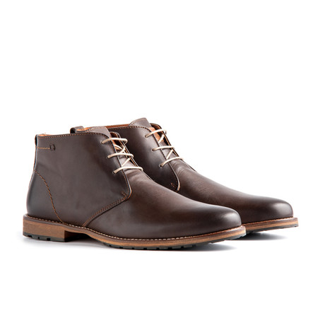 Liverpool Leather Ankle Boot // Dark Brown
