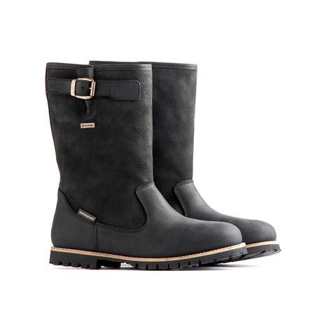 Hamar Leather Boot // Black
