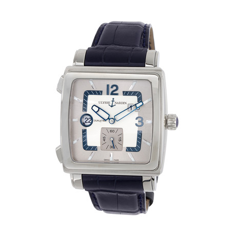 Ulysse Nardin Quadrato Dual Time Automatic // 243-92/601 // Unworn