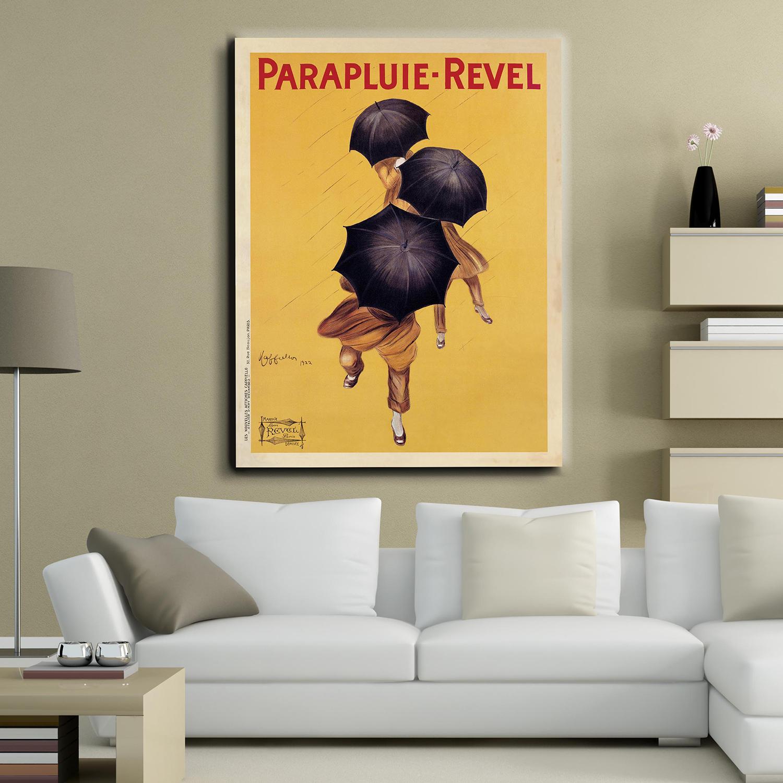 Parapluie Revel 1922 30w X 40h X 15d Canvas Leonetto