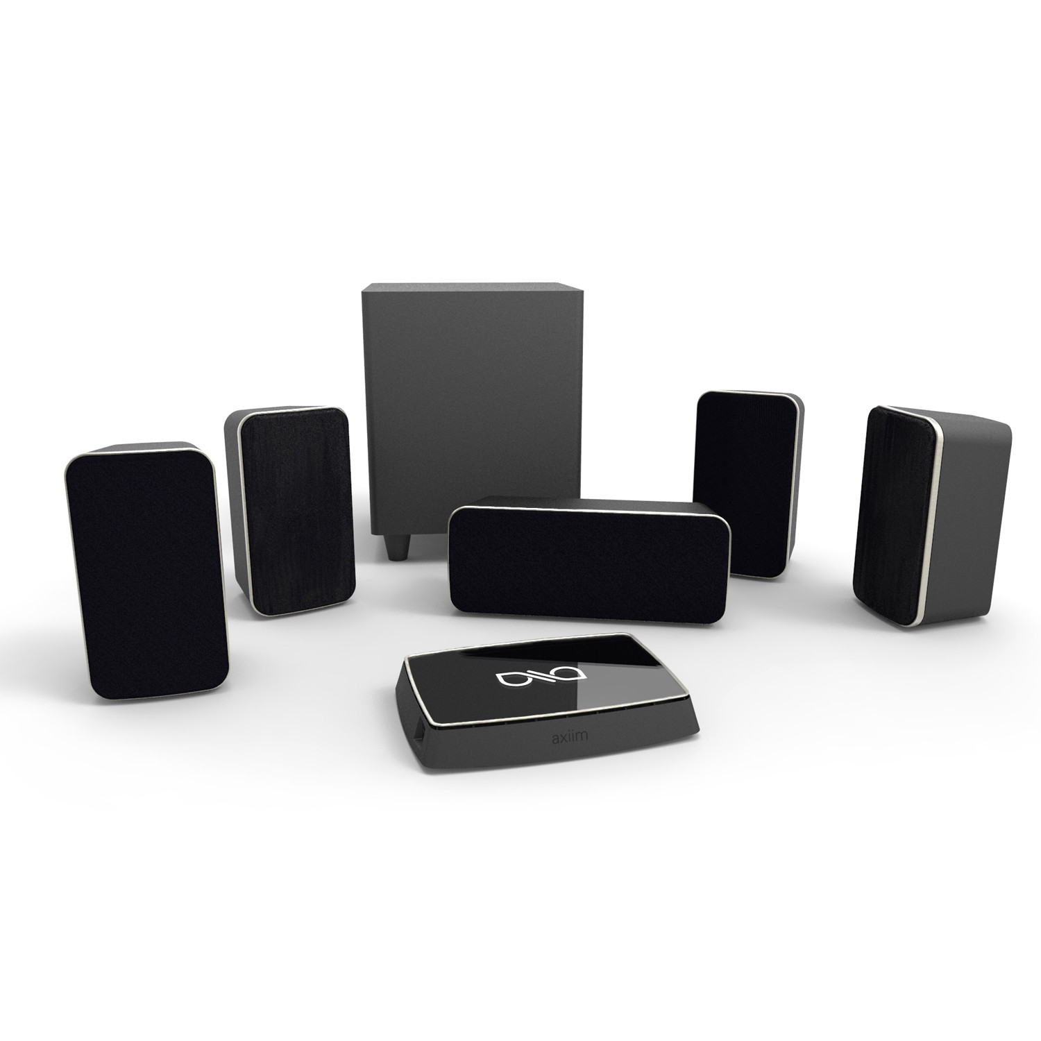 HD Wireless 5.1 Home Theater System - Axiim - Touch of Modern
