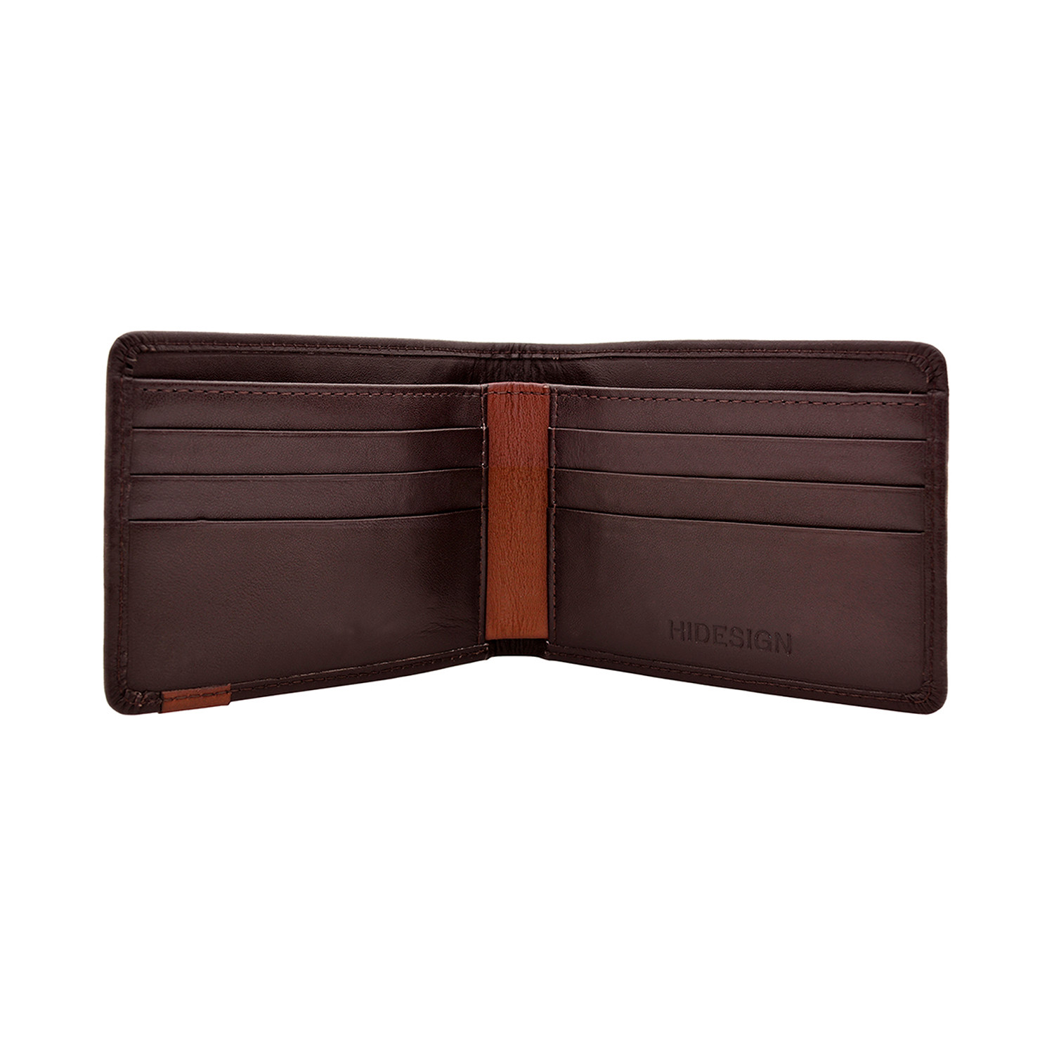 Dylan Slim Bifold Black Green Hidesign Touch Of