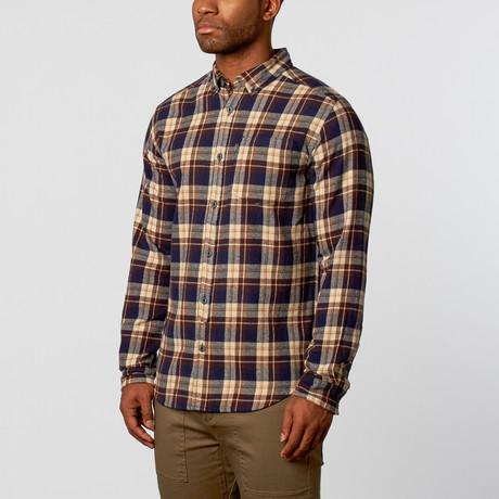 Deschutes Flannel Shirt // Navy