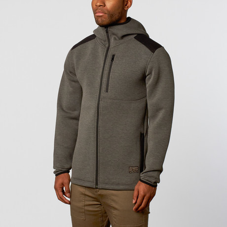 Wilder And Sons // Kellogg Tech Hoodie // Charcoal (M)