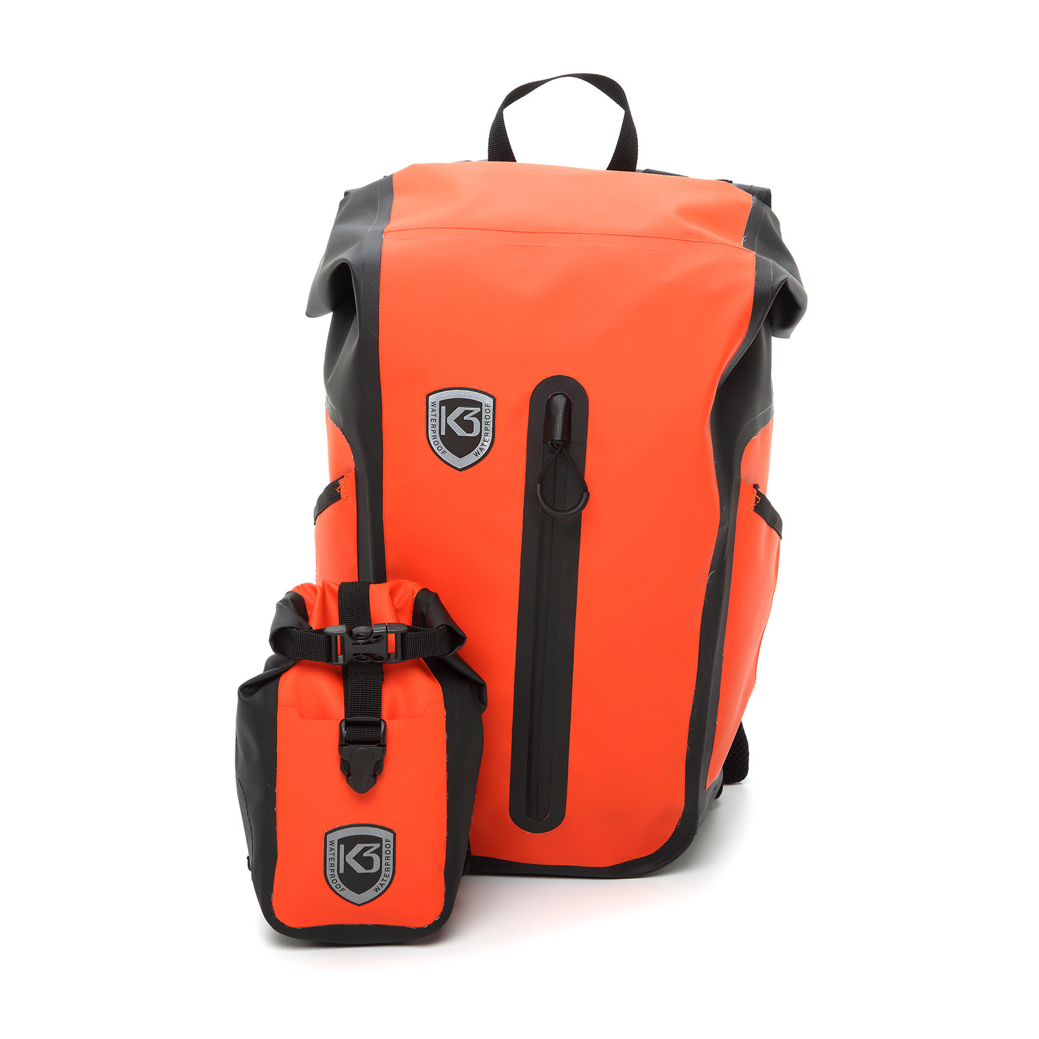 12a82bd6d913 Waterproof Sport Backpack    22 Liter (Orange Matte) - K3 ...