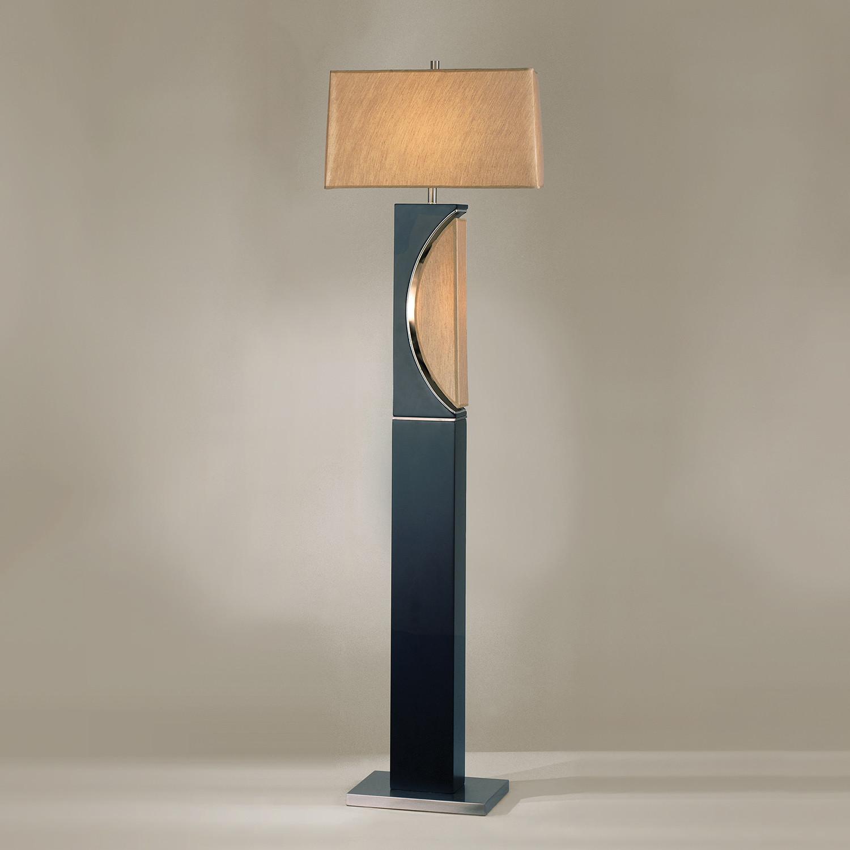 Half Moon Floor Lamp Nova Lamps Touch Of Modern