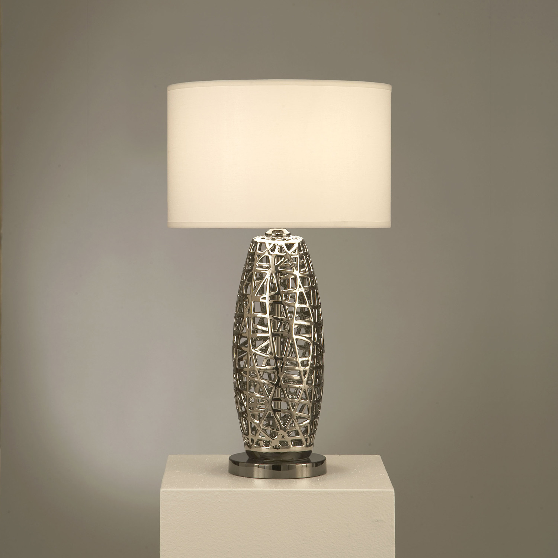 Elegant Birdu0027s Nest Oval // Table Lamp