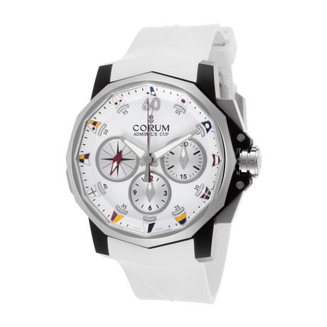 Corum Admiral's Cup Chronograph Automatic // A986/02934 // New