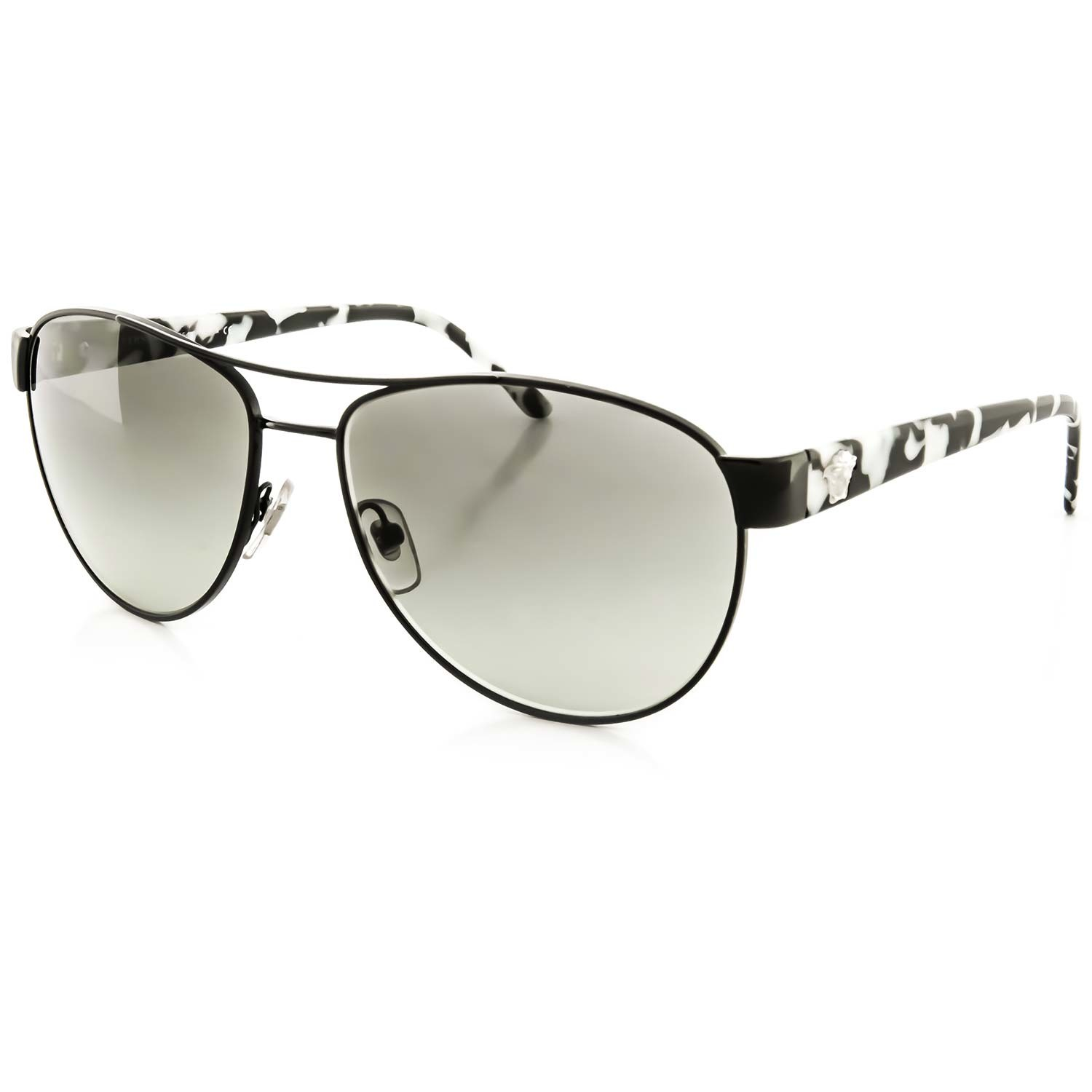 3cff7cd12a7cd Versace Sunglasses    Black + Gray Gradient - Designer .