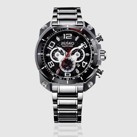JIUSKO Speedmaster Tachymeter Chronograph Quartz // 31LSB02