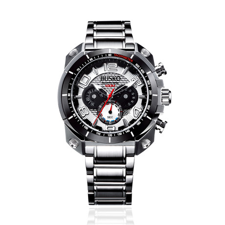 JIUSKO Speedmaster Tachymeter Chronograph Quartz // 31LSB01