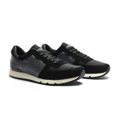 Low-Top Sneaker // Black + Grey