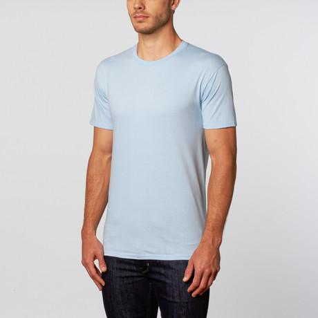 Crew Neck T-Shirt // Light Blue (L)