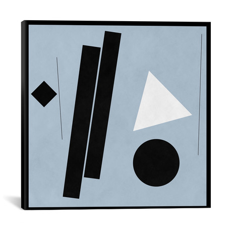 """Modern Art- Construction (After Shaw) // 5by5collective (12""""W x 12""""H x 0.75""""D)"""