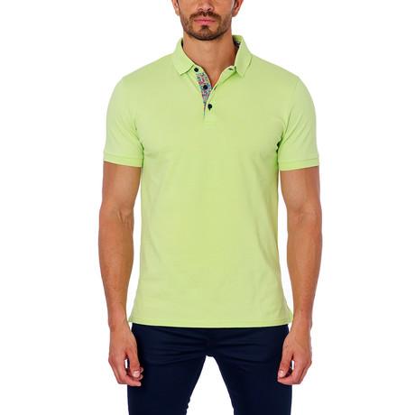 Short-Sleeve Polo // Green (S)