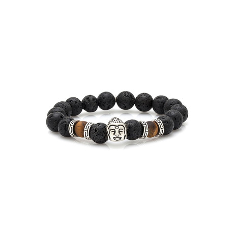 Temple // Black + Silver + Brown