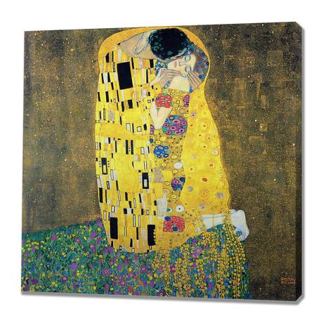 Gustav Klimt // The Kiss // 1908