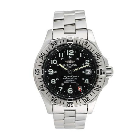 Breitling Superocean Chronometre Automatic // A17360 // 763-TM10305 // c.1990's/2000's // Pre-Owned