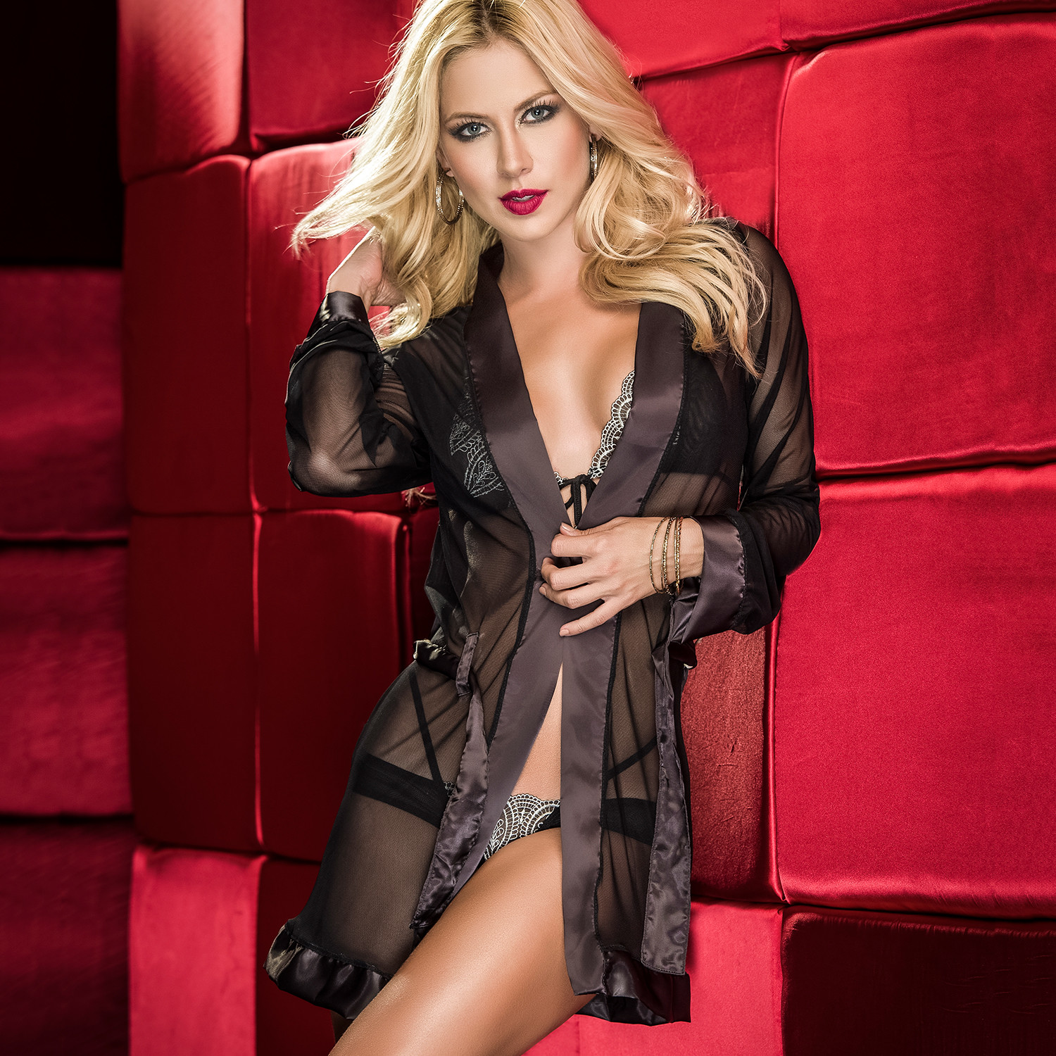 Touch Of Modern: Mesh Robe (Large)