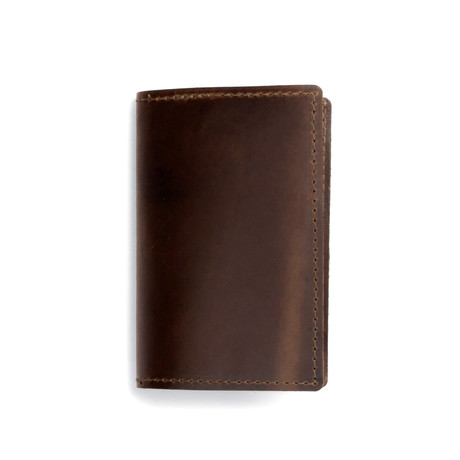 Field Leather Notebook (Dark Brown)