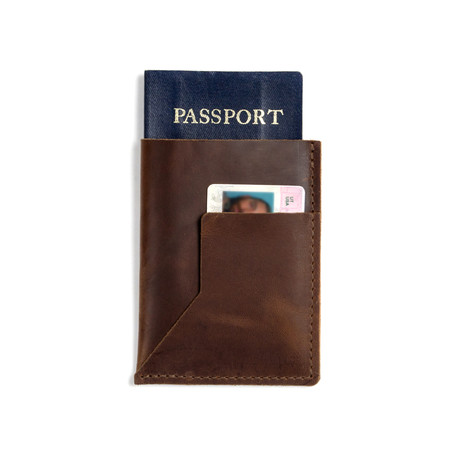 Passenger Leather Passport Sleeve