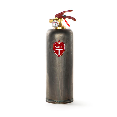 Safe-T Designer Fire Extinguisher // Raw