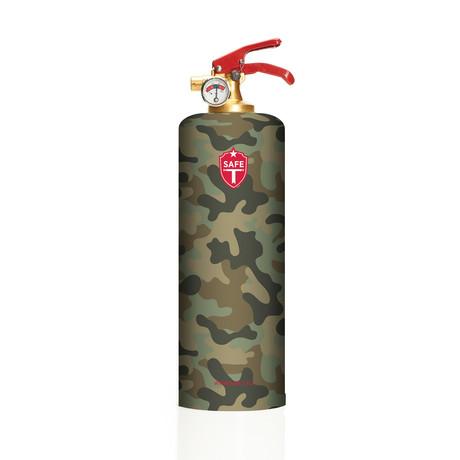 Safe-T Designer Fire Extinguisher // Army