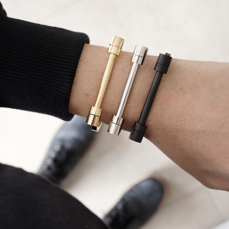 Barbell Bracelet Gold