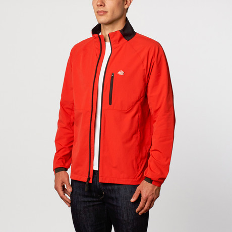 Lightweight Active Jacket // Red