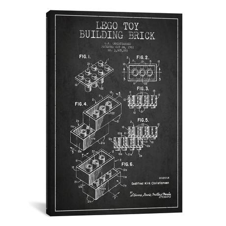 "Toy Lego // Dark (26""W x 18""H x 0.75""D)"