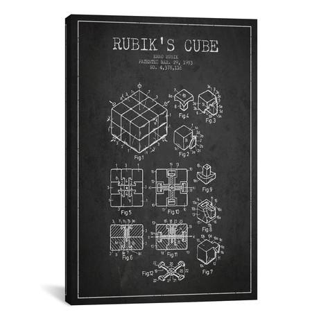 "Rubik // Dark (18""W x 26""H x 0.75""D)"