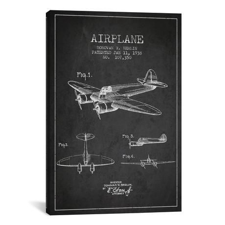 "Plane II (18""W x 26""H x 0.75""D)"