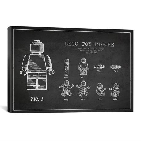 """Lego // Dark (26""""W x 18""""H x 0.75""""D)"""